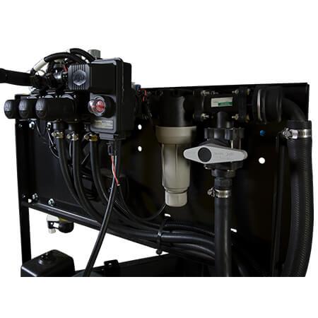 200 Gallon UTV Trailer Sprayer 430 Series 3-Way Manifold
