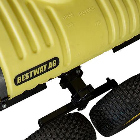 200 Gallon UTV Trailer Sprayer Adjustable Axle