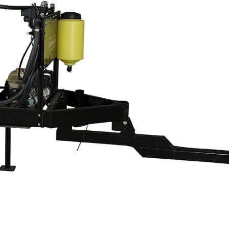 200 Gallon UTV Trailer Sprayer Adjustable Hitch Height