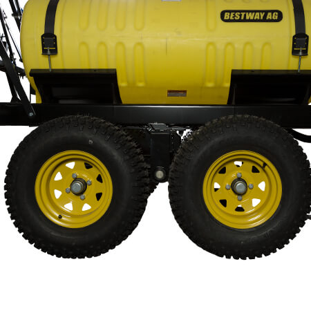 200 Gallon UTV Trailer Sprayer Walking Tandem Axle
