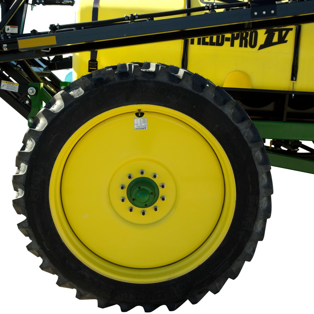 Field Pro IV Radial Tires And Adjusting Axle