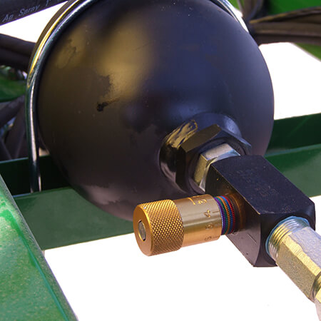 Field Pro IV V-Ride™ Adjustable Boom Suspension