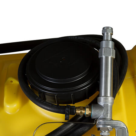 Spot Sprayer Wide Screw Cap Tank Inlet