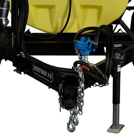 Trailer Sprayer Heavy Duty Steel Frame