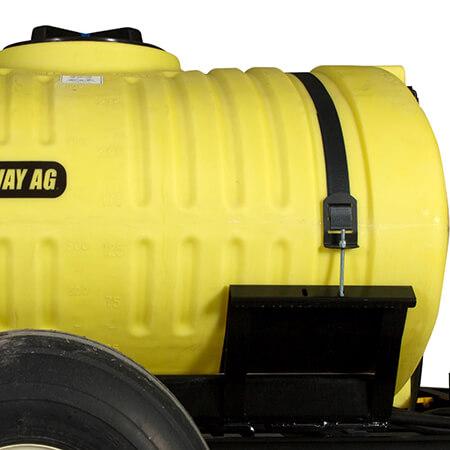 Trailer Sprayer Tank Straps And Cradle