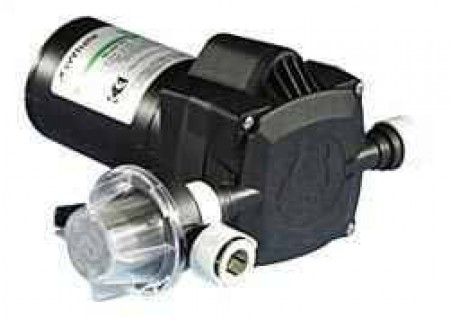 """Electric Poly 12 Volt Pump -  1/2"""" NPT Inlet x 1/2"""" NPT Outlet"""