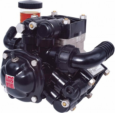 """Diaphragm Pump with 1-1/2"""" HB Inlet x 1"""" HB Outlet"""