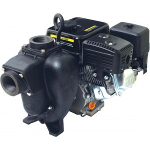 "11.7 HP Honda GX90 w/ Electric Start Gas Cast Iron Transfer Pump with 3"" NPT Inlet x 3"" NPT Outlet"