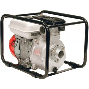 "4 HP Honda Gas Aluminum Transfer Pump with 2"" NPT Inlet x 2"" NPT Outlet"