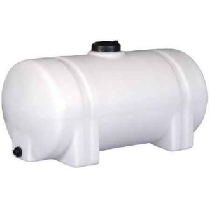 65 Gallon Horizontal Leg Tank with Bands