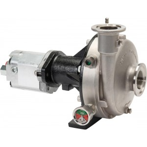 Ace 650 Hydraulic Driven 316 Stainless Steel Pump with 220 Flange Suction x 200 Flange Discharge