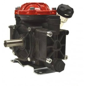 "Diaphragm Pump with 3/4"" HB Inlet x 1/2"" HB Outlet"