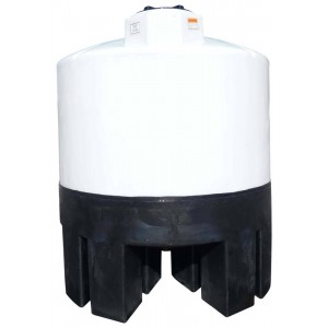 1050 Gallon Cone Bottom Tank w/ Stand