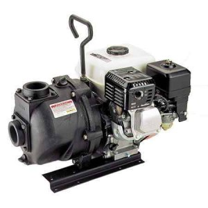 "6.5 HP Honda Gas Engine Cast Iron Pump with 2"" NPT"