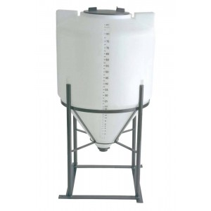 85 Gallon Inductor Cone Bottom Tank w/ Stand