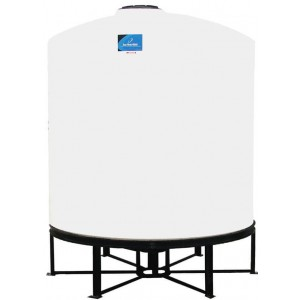 2500 Gallon Cone Bottom Tank w/ Stand