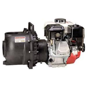 "6.5 HP Honda Gas Engine Poly Pump with 2"" NPT"