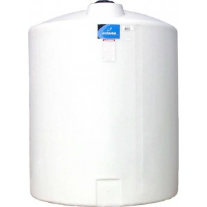 550 Gallon Plastic Vertical Storage Tank