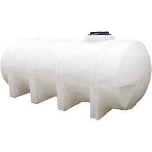 1235 Gallon Elliptical Leg Tank with Bands