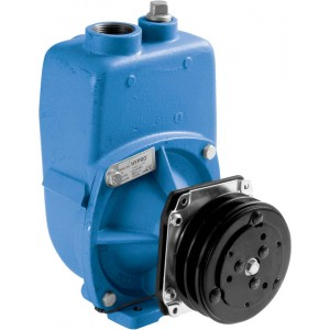 "Gear Driven Cast Iron Centrifugal Pump with 2"" NPT Inlet x 2"" NPT Outlet"