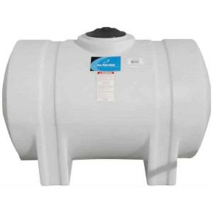 165 Gallon Horizontal Leg Tank with Bands