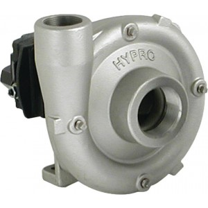"Gear Driven Stainless Steel Centrifugal Pump with 2"" NPT Inlet x 1-1/2"" NPT Outlet"