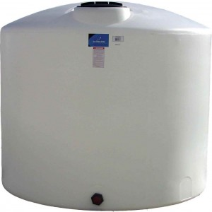 1650 Gallon Plastic Vertical Storage Tank
