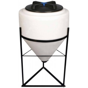 35 Gallon Inductor Cone Bottom Tank w/ Stand