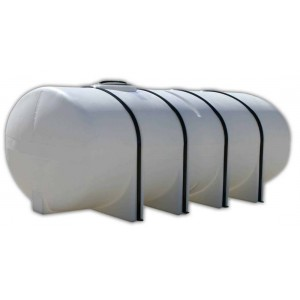 1850 Gallon Elliptical Leg Tank with Bands