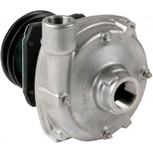 "Gear Driven Cast Iron Centrifugal Pump with 1-1/4"" NPT Inlet x 1"" NPT Outlet"