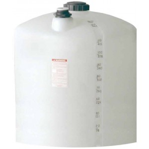 110 Gallon Plastic Vertical Storage Tank