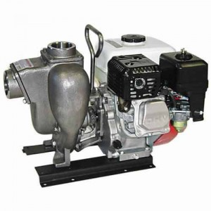"5 HP Honda Gas Engine Stainless Steel Pump with 2"" NPT"
