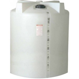 210 Gallon Plastic Vertical Storage Tank