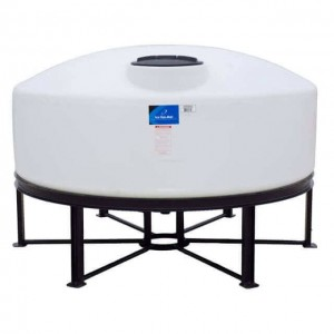 1000 Gallon Cone Bottom Tank w/ Stand