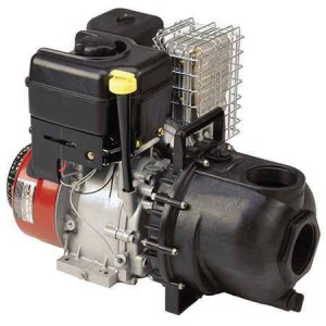 "11 HP Briggs & Stratton Gas Engine Poly Pump with 3"" NPT"