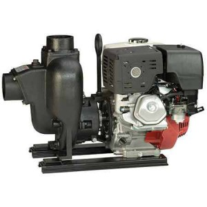 "13 HP Honda Gas Engine Cast Iron Pump with 3"" NPT"