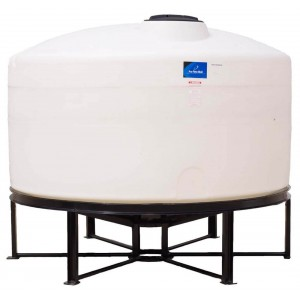 1300 Gallon Cone Bottom Tank w/ Stand