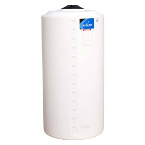 160 Gallon Plastic Vertical Storage Tank