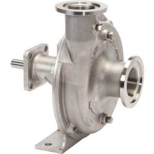 "Belt Driven 316 Stainless Steel Pump with 1-1/2"" Suction x 1-1/4"" Discharge"