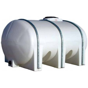 1035 Gallon Elliptical Leg Tank with Bands