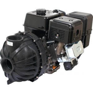 "11.7 HP Honda GX90 w/ Electric Start Gas Poly Transfer Pump with 3"" NPT Inlet x 3"" NPT Outlet"