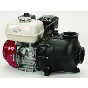 "6.5 HP Honda Gas Engine Poly Pump with 3"" NPT"