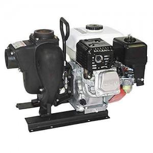 "11 HP Honda Gas Engine Cast Iron Pump with 3"" NPT"