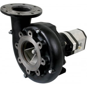 """Hydraulic Cast Iron Centrifugal Pump with 5"""" ANSI Flange Inlet x 4"""" ANSI Flange Outlet"""