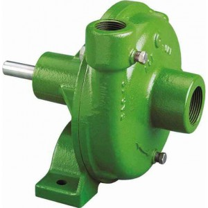 "Belt Driven E-coated Cast Iron Pump with 2"" Suction x 1-1/2"" Discharge"