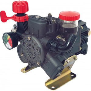 "Diaphragm Pump with 1"" HB Inlet x 1/2"" HB Outlet"