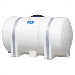 335 Gallon Horizontal Leg Tank with Bands