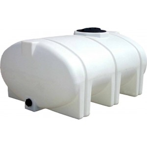 510 Gallon Elliptical Leg Tank with Bands