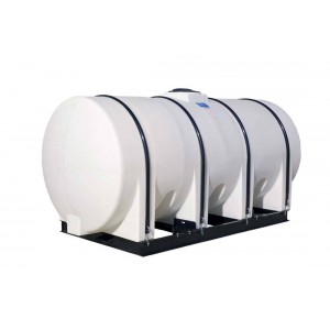 1750 Gallon Horizontal Leg Tank with Bands