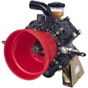 "Diaphragm Pump with 1-1/4"" HB Inlet x 3/4"" HB Outlet"